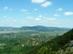 Zsíros-hegy - Kilátás a szikláról a Nagy-Kevélyre