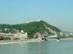 Budapest - A Gellért-hegy a pesti oldalról