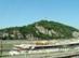 Budapest - A Gellérthegy a Szabadság-hídtól fényképezve