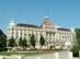 Budapest - A Gellért Szálló épülete a Szabadság-híd budai hídfőjénél