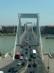 Budapest - Kilátás a Gellért szobortól az Erzsébet-hídra