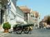 Budapest - Öreg ágyú az Országos Levéltár előtt