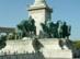 Budapest - Hősök tere, a Hét Vezér szoborcsoportja