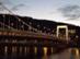 Budapest - Az Erzsébet-híd alkonyatkor