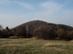 A Csúcs-hegy a Virágos-nyereg rétjéről nézve