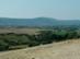 Kilátás a Solymári-völgyre és a mögötte álló Nagy-szénásra
