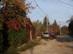 A pilisborosjenői Kőfaragó utca ősszel