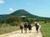 Visszatekintés a Kis-Kevélyre a nyereg északi oldaláról