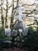 Dobogókő - I. Világháborús turista emlékmű a turistaház előtt