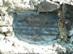 Emléktábla a Moli-pihenő kőpadján