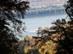 Kilátás a Szentendrei-sziget csúcsára a turistaútról