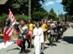 Visegrád - Kosztümös felvonulás a visegrádi utcákon