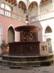 Visegrád - Szökőkút a palota udvarán