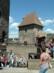 Visegrád - A Salamon torony udvarán
