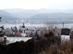 Nagymaros - Kilátás a Kálváriakápolnától a városra, a Dunára és a túlparti hegyekre