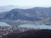 Julianus kilátó - Egy kis zoommal jól látszik a kompkikötő és a Fellegvár is