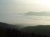 Julianus kilátó - Kilátás a ködbe merülő Dunakanyarra