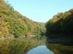 A Horgásztó késő ősszel a korábbi nézőpontból