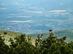 Csóványos - Távcsővel jól látható a távolban Nógrád vára