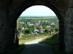 Nógrád vára - Visszatekintés a falura a várkaputól