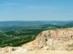 Kilátás a Visegrádi-hegységre és a Börzsönyre a Naszály kőfejtőjéből