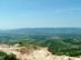 Kilátás a DCM-re és a Dunára a Naszály kőfejtőjéből