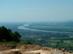 Kilátás Vácra és a Dunára a kőfejtőből