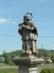 Romhány - Nepomuki Szent János szobra áll a hídon