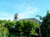 Becske - Elhaladunk a római katolikus templom alatt