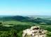 A romoktól is jól látszik a Berceli-hegy