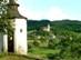 Cserhátsurány - Kilátás a Jánossy kúriától a falura és a katolikus templomra