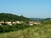 Hollókő - Kilátás a falura és a várra az Öreg-szőlők oldalából