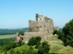Hollókő - A vár a dombgerinc végében áll