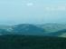 Kilátás a Tepkéről nyugat felé Hollókőre