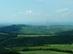 Kilátás a Macska-hegyről Hollókőre