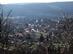 Kilátás a Korpa-hegyről vissza Alsópetényre