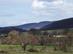 Kilátás a dombok között megbúvó kicsi Garáb falura
