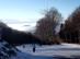 A kékestetői sípálya egy téli napon