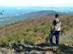 Kilátópont a Sas-kő csúcsa alatt