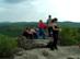 Turistacsoport a Törökasztalnál