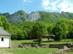 A Bél-kő látképe a ciszterci apátság romjaitól