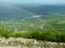 Kilátás a Bél-kőről a Gyári-tóra és a cementgyárra