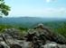 Kilátás a Pes-kő-kapu szikláiról