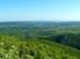 Kilátás a Dédesi vártól az Upponyi-hegységre