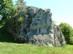 Dédestapolcsány határában áll a Nagy-kő sziklája