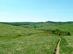 Visszapillantás a dombról Gömörszőlős völgyére