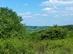 Kilátás a dombgerincről a még távoli Zádorfalvára