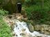 A Nagy-Tohonya forrás a Kossuth-barlang kapujánál