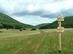 Turistaút elágazás a Szelce-völgy alsó végén