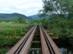 A bányavasút hídja a Bódva folyó felett